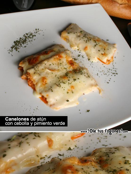 canelones atun