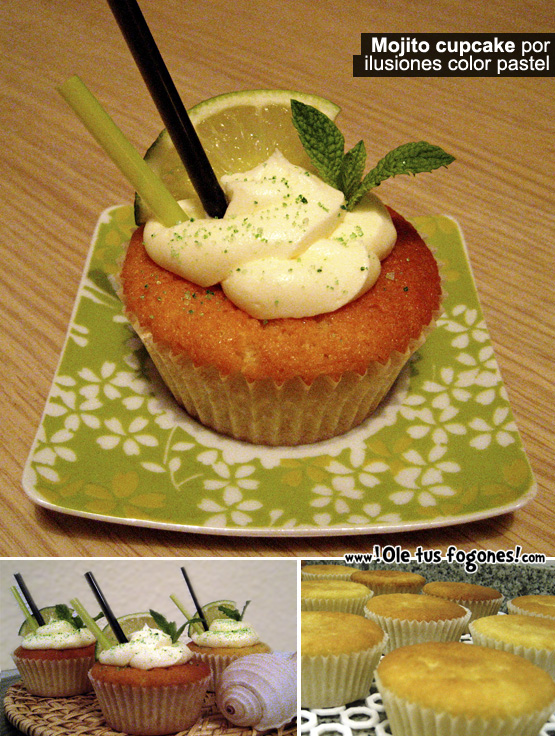 mojito Cupcake
