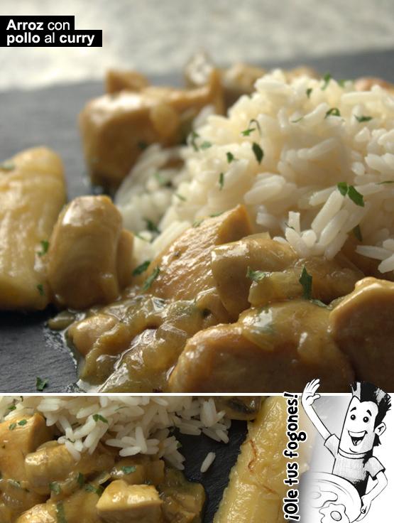 arroz Pollo Al Curry