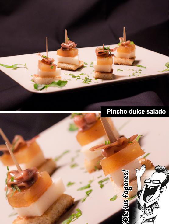 pincho dulce salado