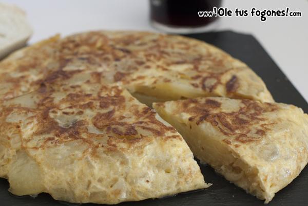 tortilla, patata, patatas, receta, jugosa, fácil
