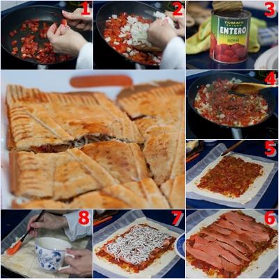 empanada de salmón