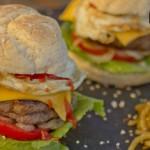 Mini hamburguesas de pan de horno