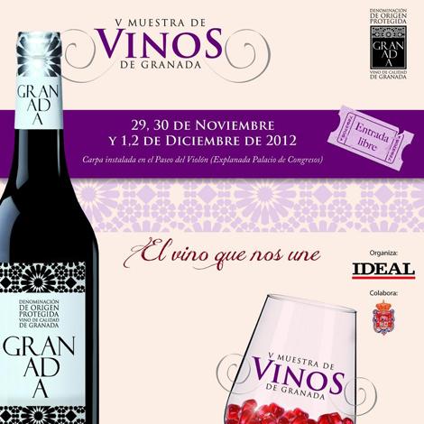 V Muestra de vinos de Granada
