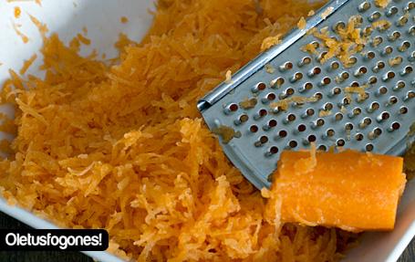 Carrot cake o pastel de zanahorias