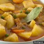 Guiso caldoso de sepia con patatas
