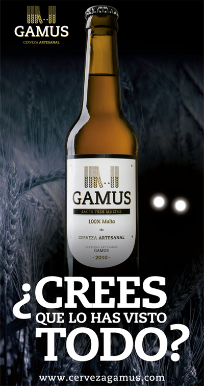 Cerveza Artesanal GAMUS