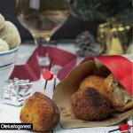 Croquetas de pollo y manzana al Pedro Ximénez