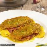 Patatas rellenas de jamón ibérico